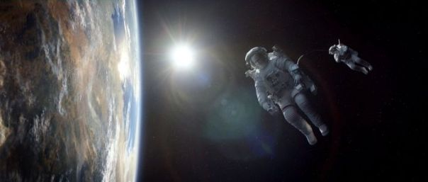 Foto de la película Gravity. www.atlascultural.com